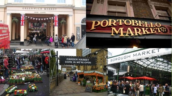 Get a Cab Booking to Visit the Best 5 Markets in London